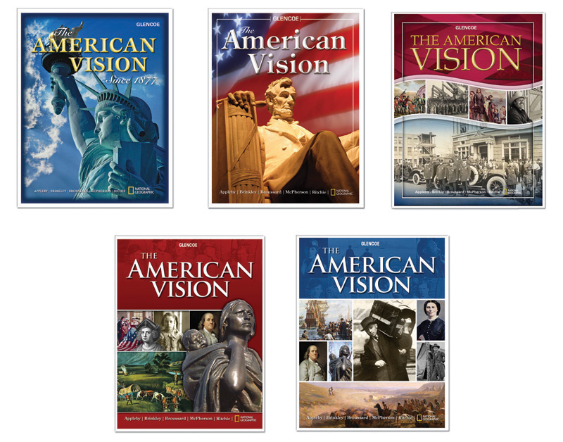 American history high school textbooks a high school text book